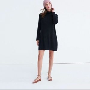 Madewell Turtleneck Pullover Dress